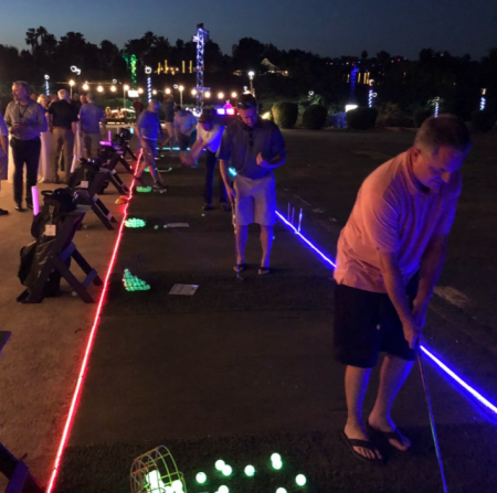 "Indian Wells Golf Resort ""Shots in the Dark"" with LITE4NITES"