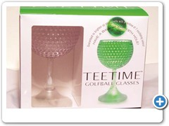 TEETIME GOLFBALL ELECTRONIC GLASSES......light up 7 colors and oscillate for any golf event