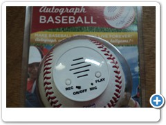 Talking Autograph Baseball II