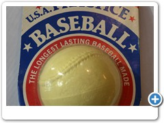 USA PRACTICE BASEBALL......the longest lasting baseball made.