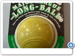 MAJOR LEAGUE LONGBALL.....for hitting sky high flyballs and sky high pop-ups