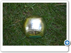 GOLD BASEBALL PAPERWEIGHT......classy gold baseball keeps important papers safe at home or office.