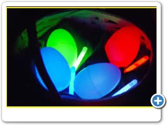 NITELITE EASTER EGGS....light up for nitetiime Easter egg hunts and single matchmaker parties